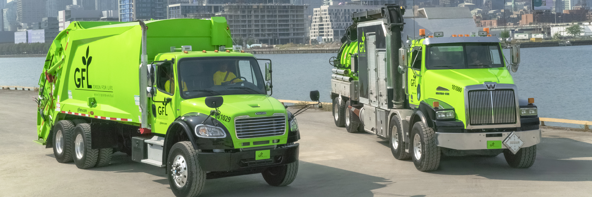 GFL is your full-service partner for environmental solid and liquid waste solutions.